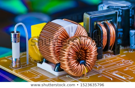inductor detail Stock photo © prill