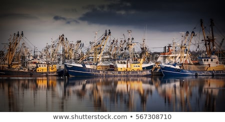 Fishing boat in harbour Stock photo © juniart