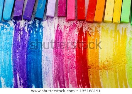 chalk background tools stock photo © yuriy