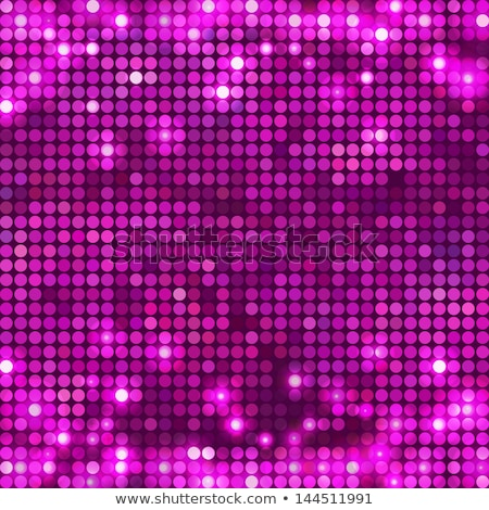 abstract pink violet round pattern with lights stock photo © heliburcka
