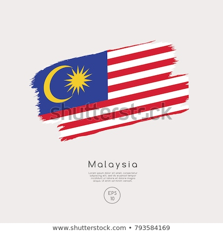 Malaysia flag themes idea design Stock photo © kiddaikiddee
