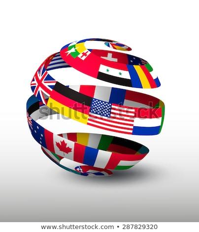 球 フラグ ロシア 国家 青 ボール ストックフォト © alessandro0770