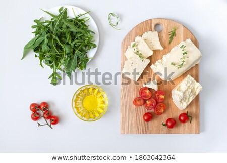 Hout niet groene voedsel blad Stockfoto © zia_shusha