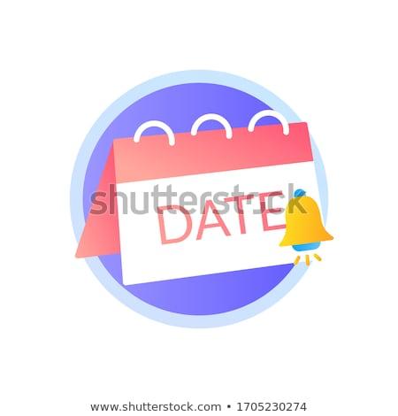 Felirat lila vektor ikon terv digitális Stock fotó © rizwanali3d