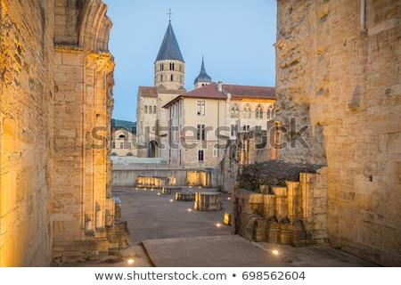 Abdij Frankrijk gebouw reizen architectuur tempel Stockfoto © phbcz