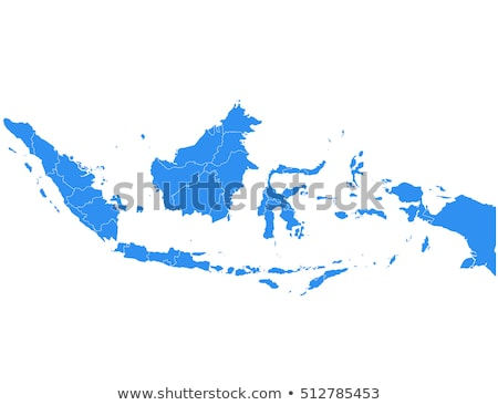 地図 インドネシア 背景 行 ベクトル ストックフォト © rbiedermann
