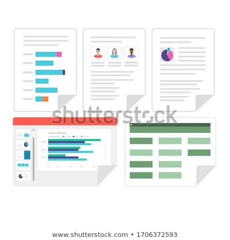 Excelencia palabra hombre de negocios subir hombre carta Foto stock © fuzzbones0