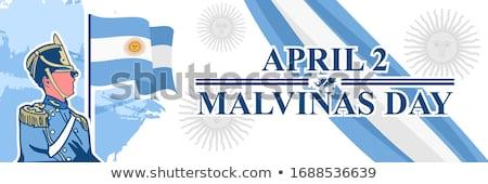 bevándorlás · Argentína · ünnep · bélyeg · ünneplés · esemény - stock fotó © kovacevic