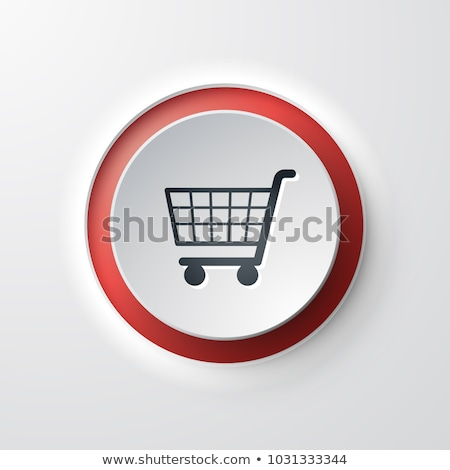 Add To Cart Red Vector Icon Design Stock photo © rizwanali3d
