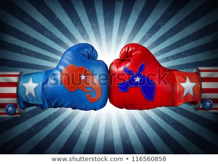 Democrat Republican Election Race Stock photo © Lightsource