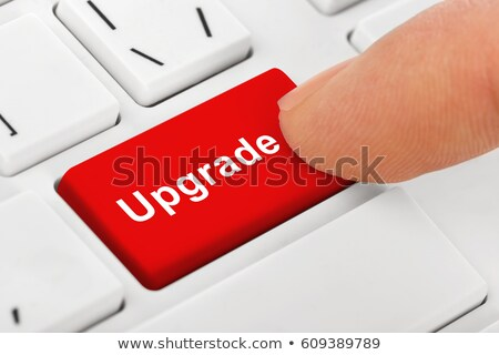 Laptop button - upgrade Stock photo © michaklootwijk