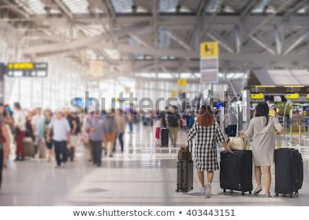 Foto stock: Terminal In Airport