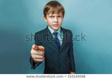 Handsome guy show hands with twelve fingers Stock photo © zurijeta
