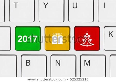 Computer keyboard 2017 #3 stock photo © Oakozhan