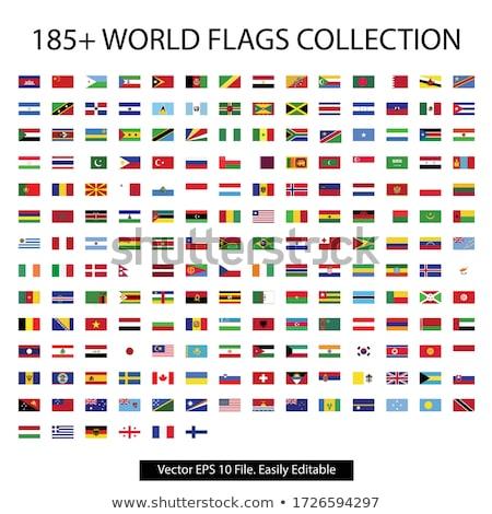Canadá · Barbados · bandeiras · quebra-cabeça · isolado · branco - foto stock © said