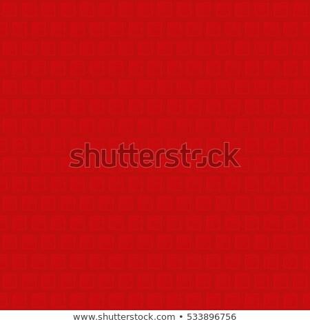 neutro · geométrico · sem · costura · vermelho · padrão - foto stock © almagami