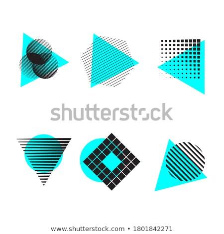 abstrato · triângulo · ponto · redemoinho · padrão - foto stock © beholdereye
