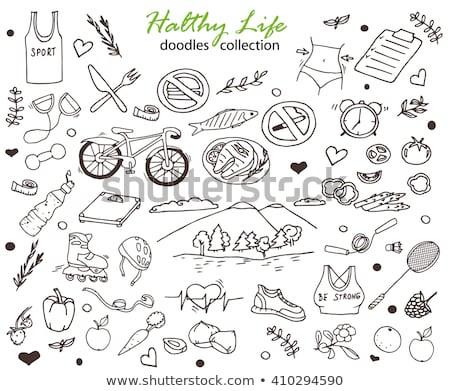 Símbolo conjunto ilustrações Foto stock © Tefi