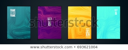 halftone frame abstract background design stock photo © SArts