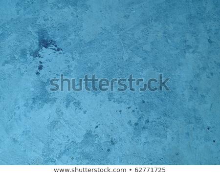 Mavi masmavi tuğla doku taş duvar arka plan Stok fotoğraf © romvo
