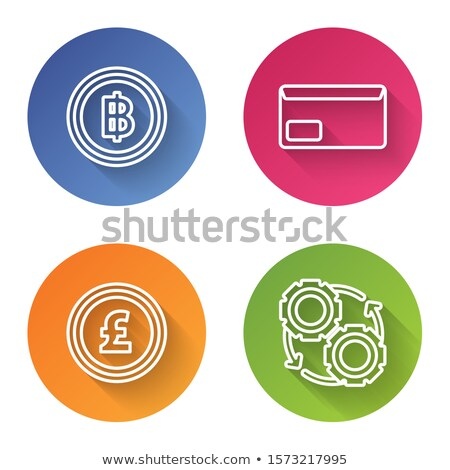 crypto message icon stock photo © wad