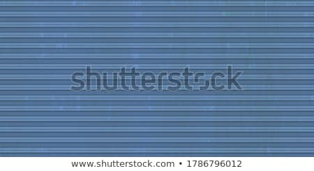 Stock photo: Fluted metal texture.