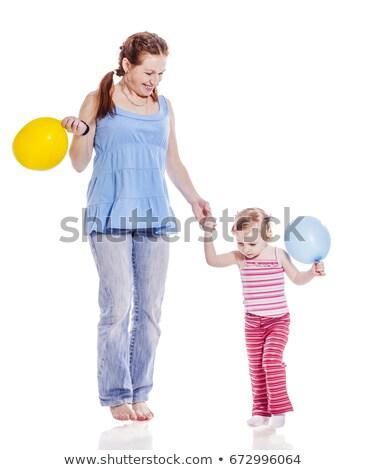 母親 · 娘 · 手をつない · 実例 · 女性 · 子 - ストックフォト © bluering