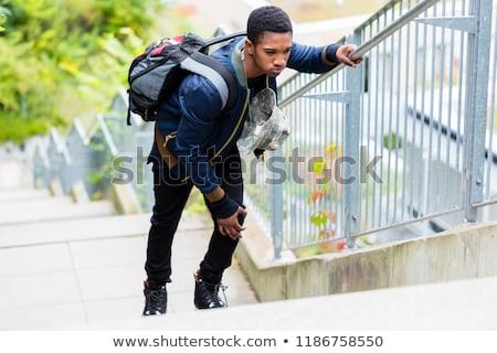 полный · студент · день · жизни · молодые · христианской - Сток-фото © kzenon