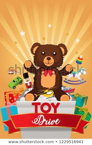 Holiday Season Toy Drive Illustration Stock photo © artisticco