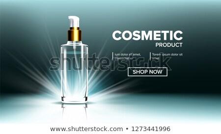 cosmetici · vetro · prodotto · vettore · profumo · essenza - foto d'archivio © pikepicture