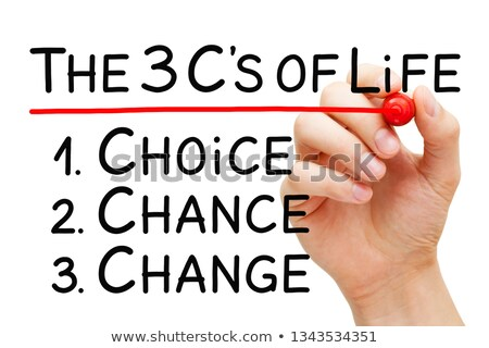 Choice Chance Change Better Life Concept Stock photo © ivelin