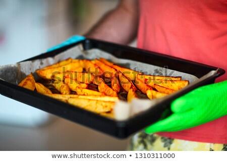 картофель · лоток · здоровья · ресторан - Сток-фото © dashapetrenko
