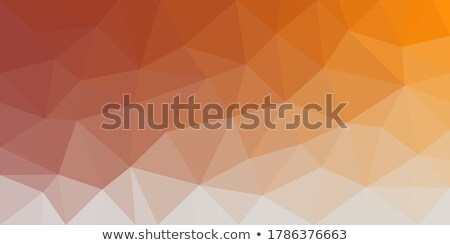 Orange Purple Gradient Low poly Triangular Geometric Polygonal Square Blur glass Abstract Vector Bac Stock photo © kyryloff