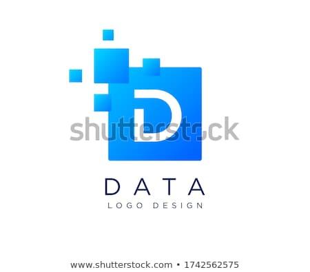 бизнеса · корпоративного · буква · d · дизайн · логотипа · вектора · красочный - Сток-фото © netkov1