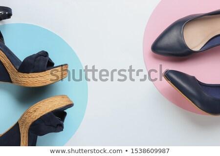 先頭 表示 ポップアート ミニマリスト 芸術 ファッション ストックフォト © serdechny