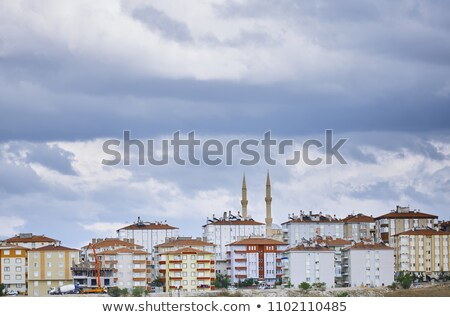 Wohn- Gebäude istanbul Haus Landschaft Reise Stock foto © Novic