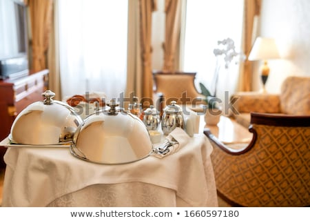 Room in a luxury five star hotel, interior design Stock photo © Anneleven