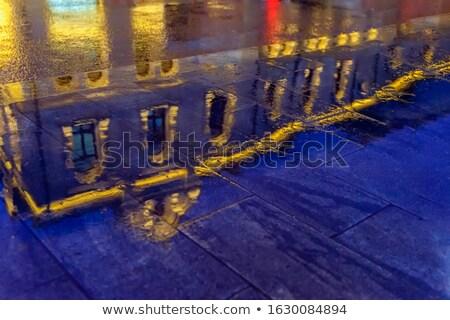 Kaldırım soyut dizayn doku tuğla Stok fotoğraf © stevanovicigor