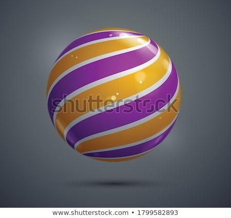 coleção · colorido · esferas · belo · conjunto - foto stock © dvarg