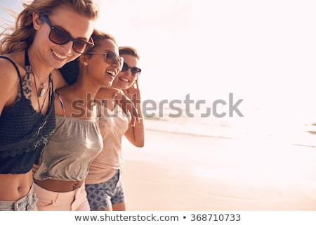 Best friends at the beach Stock photo © photography33