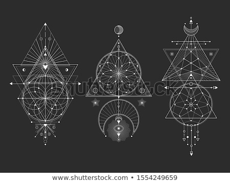 Mystic Symbols Stock photo © cidepix