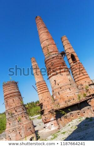 abandoned marble processing factory Stock photo © sirylok