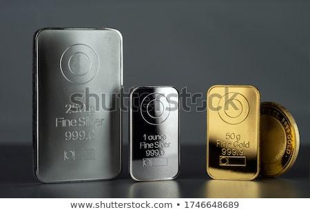 Сток-фото: Gold And Silver Bars