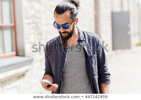 urban male   shades stock photo © lisafx