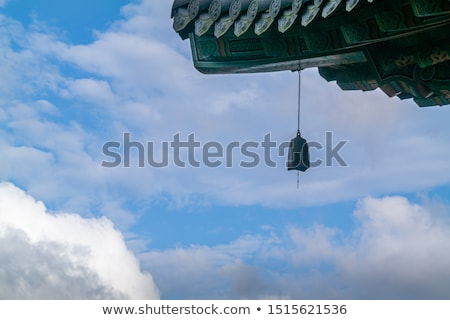 buddhizmus · templom · tető · tető · mutat · szobor - stock fotó © smithore
