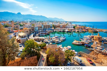 starych · portu · Cypr · charakter · grupy - zdjęcia stock © ruzanna