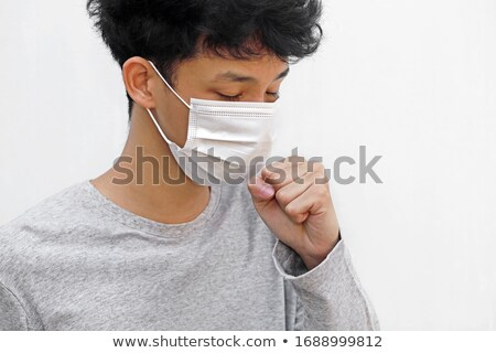 Asian Teen Coughing Stock photo © sframe