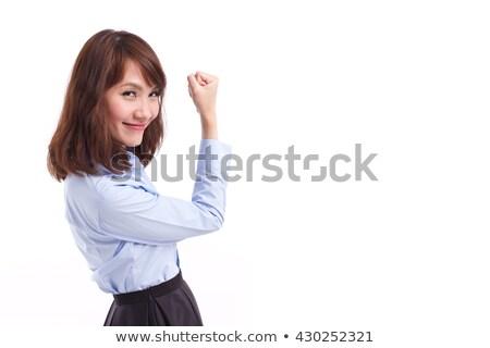 Beautiful glad woman Stock photo © Lessa_Dar