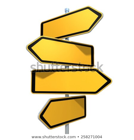 Blank Directional Options signs Stock photo © Lightsource