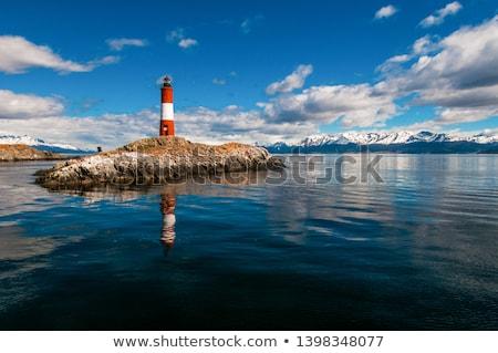 világítótorony · csatorna · szigetek · part · tájkép · nyár - stock fotó © jkraft5